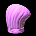 Chefs hat topper icon pink