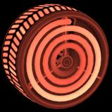 Burner Inverted wheel icon