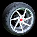Quimby wheel icon titanium white