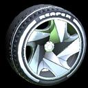 Reaper wheel icon grey