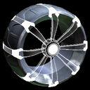 Picket Holographic wheel icon grey