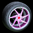 Quimby wheel icon pink