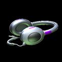 MMS Headphones topper icon purple