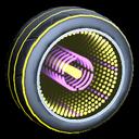 Infinium wheel icon saffron