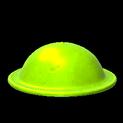 Brodie helmet topper icon lime