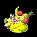 Fruit hat topper icon saffron