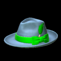 Homburg topper icon forest green