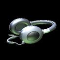 MMS Headphones topper icon titanium white