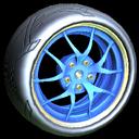 Nipper wheel icon cobalt