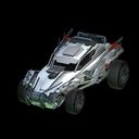 Outlaw GXT body icon titanium white