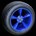 Stern wheel icon cobalt