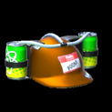 Drink helmet topper icon burnt sienna