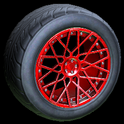 Tunica wheel icon crimson