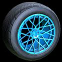 Tunica wheel icon sky blue