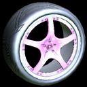 Yuzo wheel icon pink