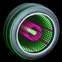 Infinium wheel icon forest green