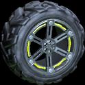 Trahere wheel icon lime