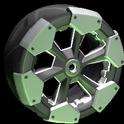 Clodhopper wheel icon titanium white