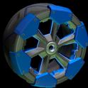 Clodhopper wheel icon cobalt