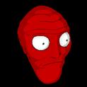 Cromulon topper icon crimson