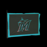 Miami Marlins antenna icon