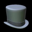 Top hat topper icon black