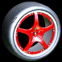 Yuzo wheel icon crimson