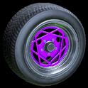 Falco wheel icon purple