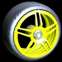 Gaiden wheel icon saffron