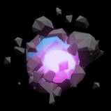 Polygonal BL rocket boost icon
