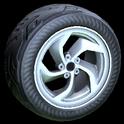 Vortex wheel icon grey