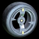 Zeta wheel icon lime
