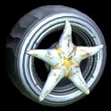 Asterias wheel icon grey