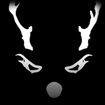 Rad Reindeer decal icon