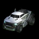 Road hog body icon black