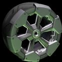 Clodhopper wheel icon grey