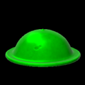 Brodie helmet topper icon forest green