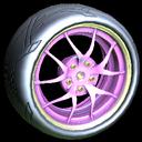 Nipper wheel icon pink