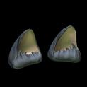 Wildcat ears topper icon black