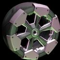 Clodhopper wheel icon pink