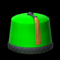 Fez topper icon forest green