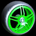 Gaiden wheel icon forest green