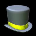 Top hat topper icon saffron