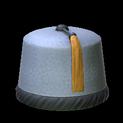 Fez topper icon grey