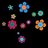Flowers rocket boost icon