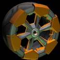 Clodhopper wheel icon burnt sienna