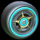 SLK wheel icon sky blue