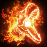 T Rex goal explosion icon