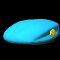 Beret topper icon sky blue