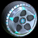 Diomedes wheel icon sky blue